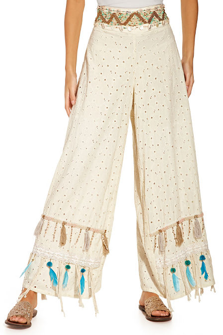 Shell and feather pant image