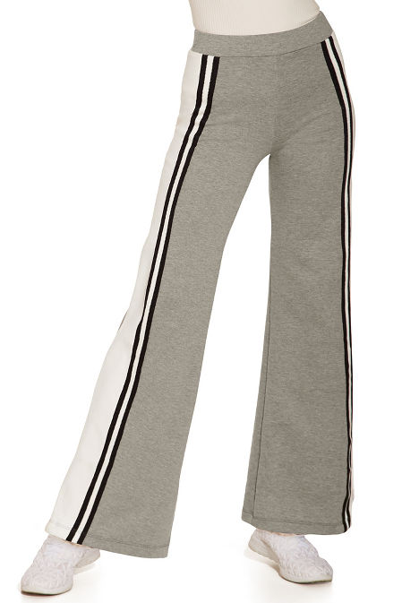 Side track stripe sweatpant image