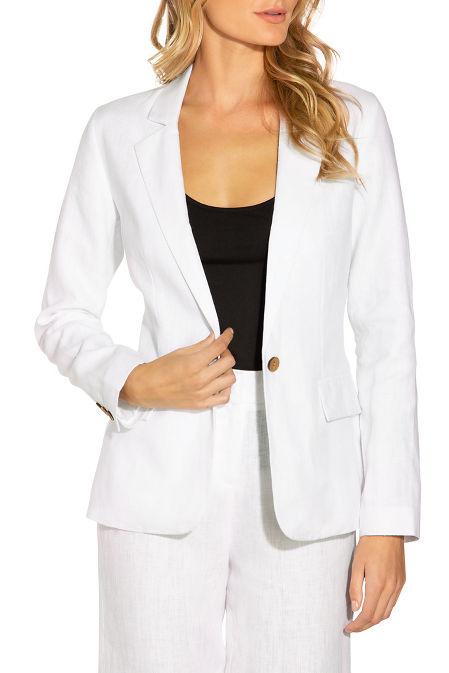 Linen blazer image