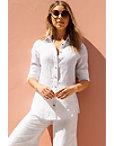 Linen Button Down Shirt Photo
