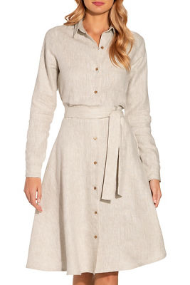 Display product reviews for Linen shirtdress