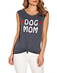 Dog Mom Sleeveless Top Photo