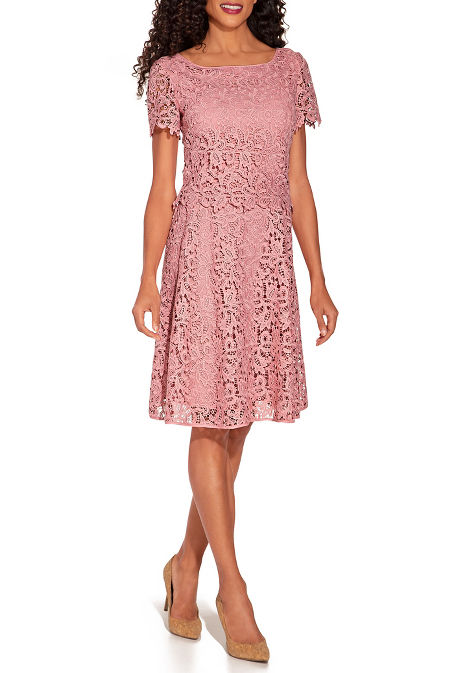 Lace popover dress image