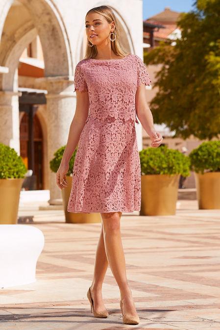 Lace popover dress image
