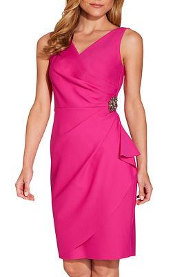 Embellished compression dress