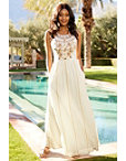 Embellished Maxi Dress Photo
