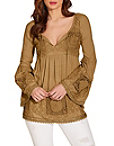 Lace Studded Tunic Top Photo