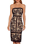 Strapless Border Lace Dress Photo