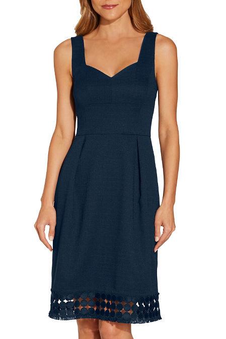 Sweetheart neck dress image