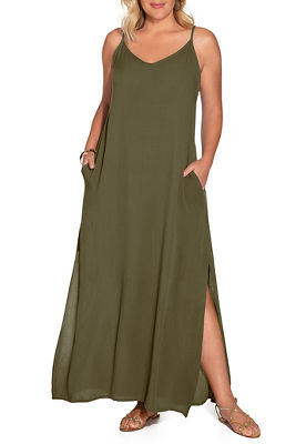 Flowy weekend maxi dress