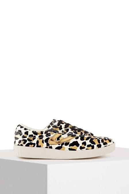 Leopard Print Metallic Sneaker image