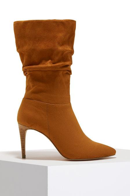 Slouch heel boot image