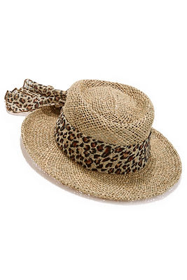 leopard scarf hat