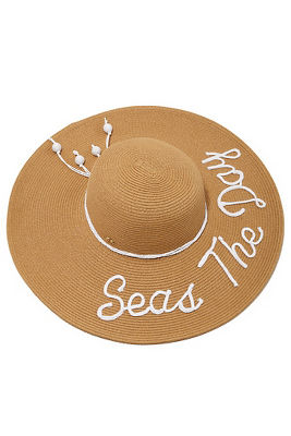 seas the day sun hat