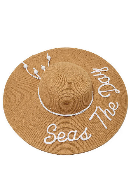 Seas the day sun hat image