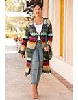Crochet Flare Sleeve Duster Photo
