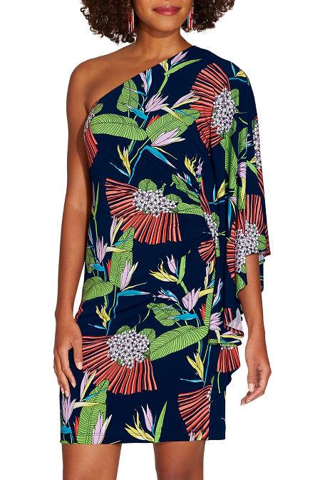 Birds of paradise dress image