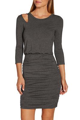 Cutout T-shirt dress