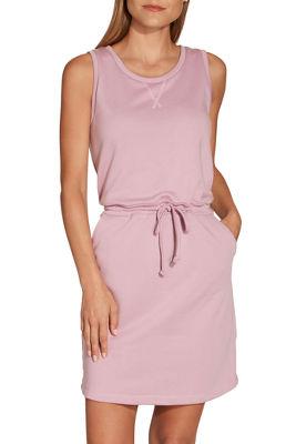 Drawstring waist sport dress