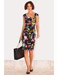 Floral Sheath Dress Photo