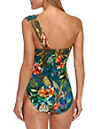 Floral Print Goddess One Piece Swimsuit Photo