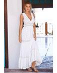 Lace Shell Embellished Maxi Dress Photo