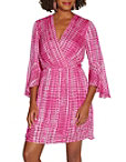 Surplice Tie Dye Dress Photo