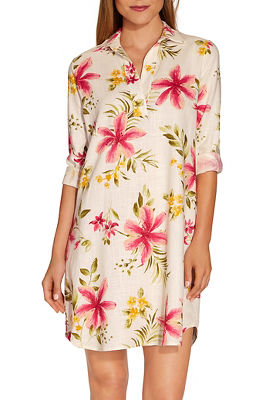 Tropical shirtdress