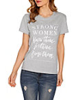 Strong Women Short Sleeve Top Photo
