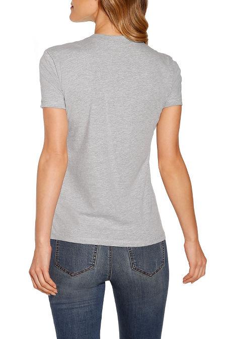Strong women short sleeve top image