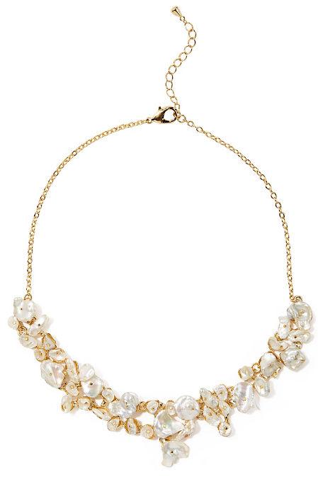 Seashell statement necklace image