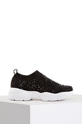 Allover Rhinestone Sneaker