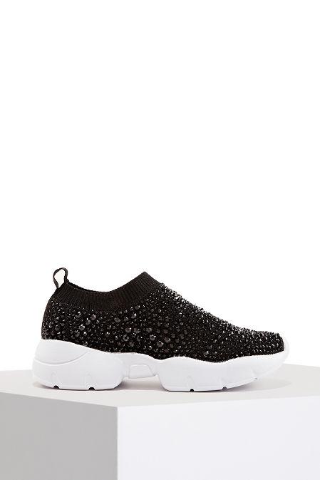 Allover Rhinestone Sneaker image