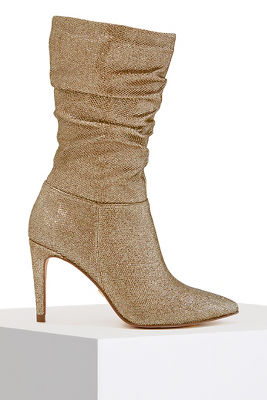 Holiday Scrunch Bootie