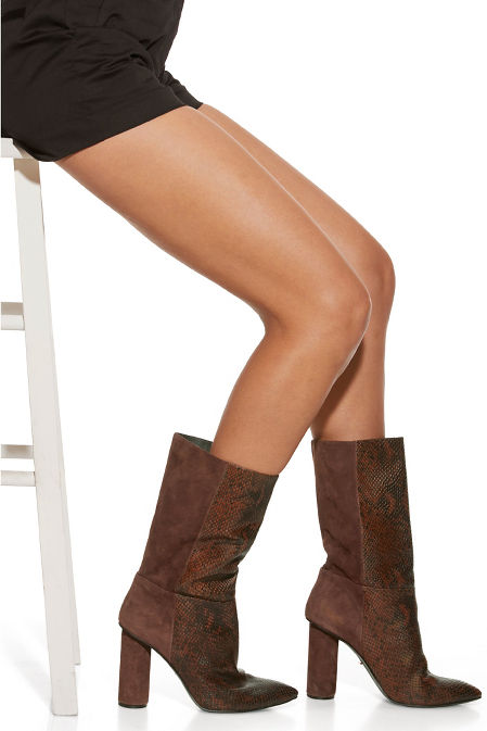 Mixed Leather Boot image