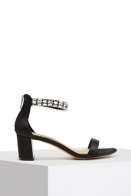 Jewel Ankle Wrap Heel image