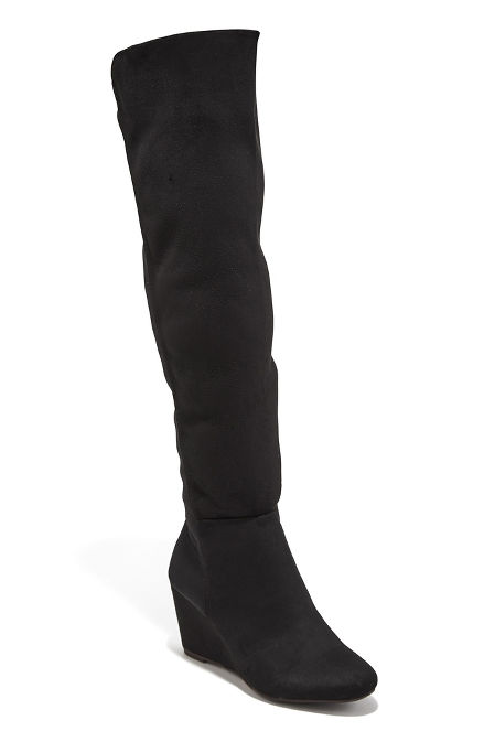 Stretch Back Wedge Boot image