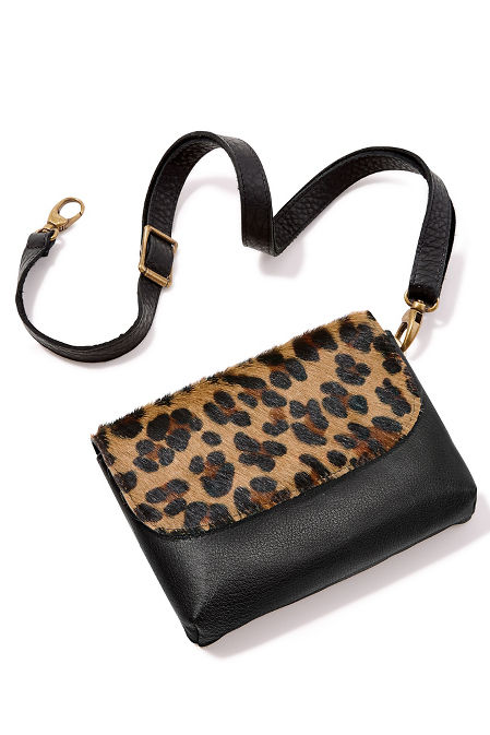 Leopard print belt bag image