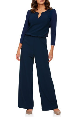 Beyond Travel™ Keyhole Jumpsuit