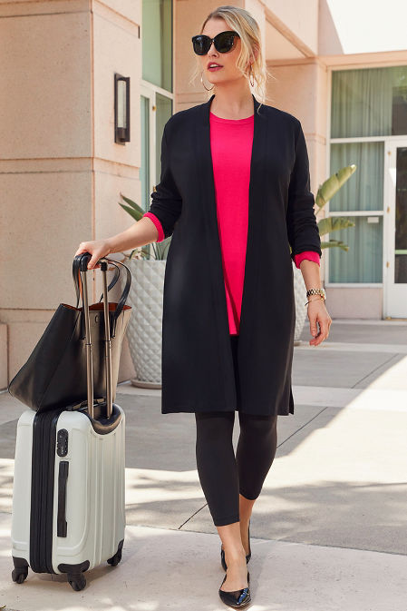 Beyond Travel™ Long Cardigan image