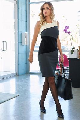Beyond Travel™ Color-Block Dress