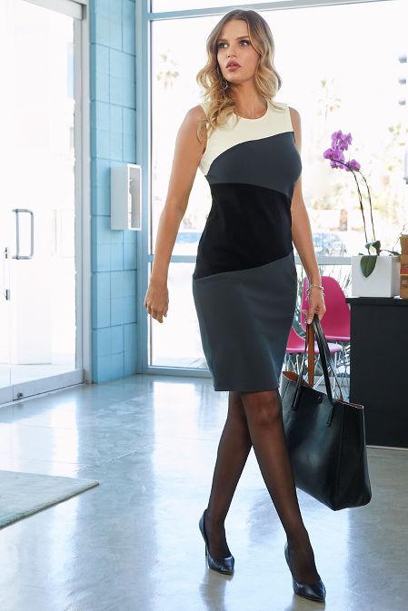 Beyond Travel™ Color-Block Dress image