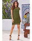 Crochet Lace Dress Photo