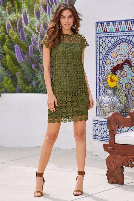 Crochet Lace Dress image