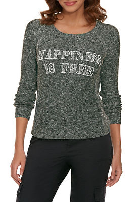 Happiness Is Free Sweater
