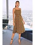 Polka Dot Midi Dress Photo