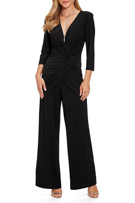 Ruched Overlay Jumpsuit
