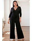 Ruched Overlay Jumpsuit Photo