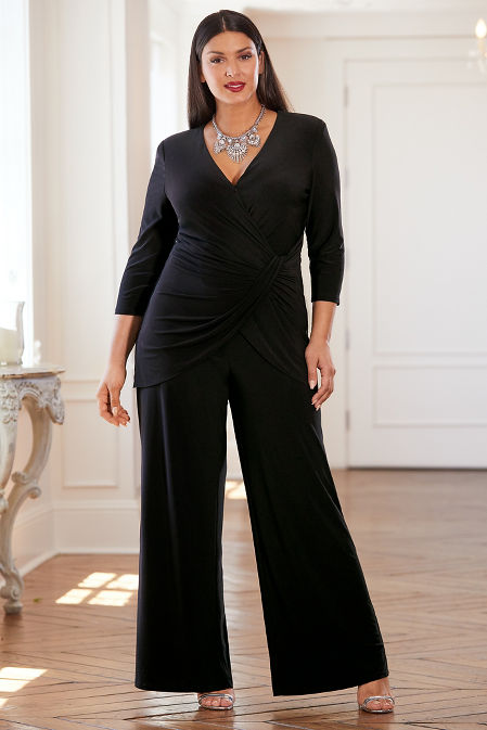 Ruched Overlay Jumpsuit image