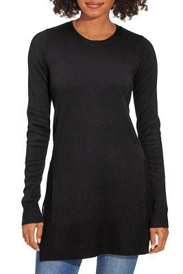 Tunic Side-Slit Sweater